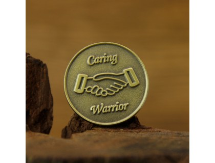 Caring Warrior Antique Pins