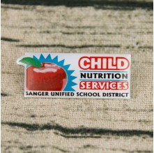 Child Nutrition Service Offset Print Pins