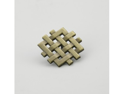 Chinese Knot 3D/Cut Out Lapel Pins