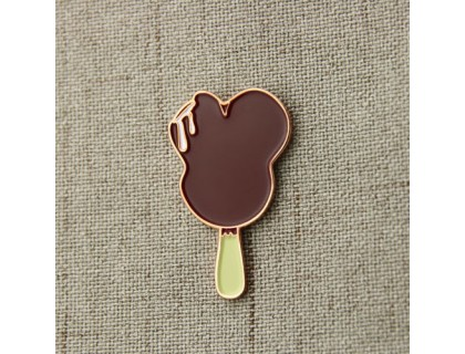 Chocolate Ice Cream Enamel Pins