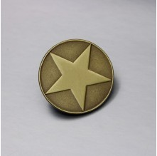 Five-pointed Star Antique Lapel Pins