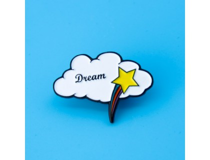 White Cloud Custom Enamel Pins