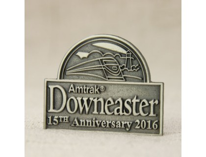 Amtrak Downesater Custom Lapel Pins