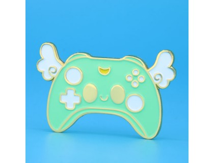 Kawaii Video Game Controller Lapel Pins