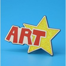 Art Star Enamel Pins