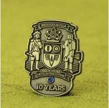 Mississauga Culture Lapel Pins