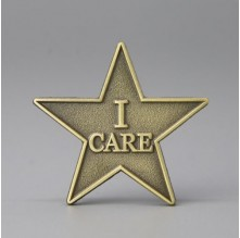 I Care Lapel Pins