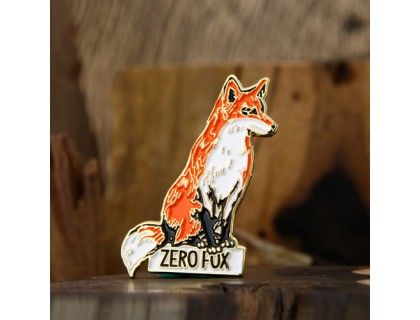 Zero Fox Enamel Pins Custom