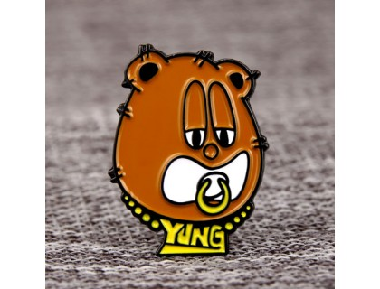 Bear Baby Enamel Pins Custom
