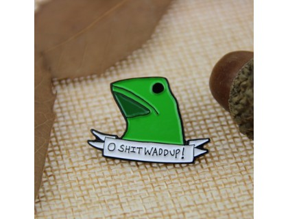 Here Come Dat Boi Enamel Pins