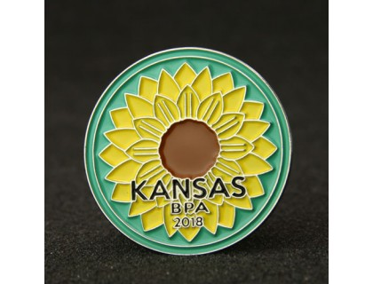 Sunflower Lapel Pins