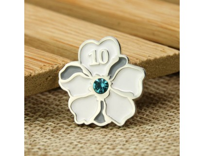 Flower Enamel Pins Custom