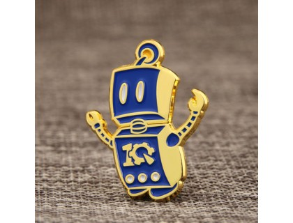 New Robot Enamel Pins