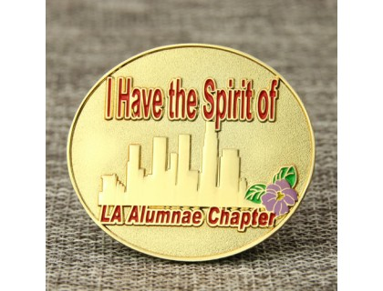 La Alumnae Chapter Custom Pins