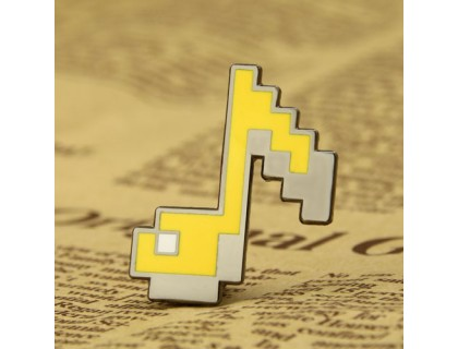 Classic Note Enamel Pins