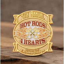 Hot Rods Custom Pins