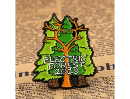 Electric Forest Custom Pins Cheap