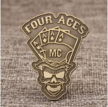 Four Aces Custom Pins