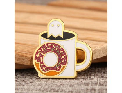 Cup Custom Enamel Pins