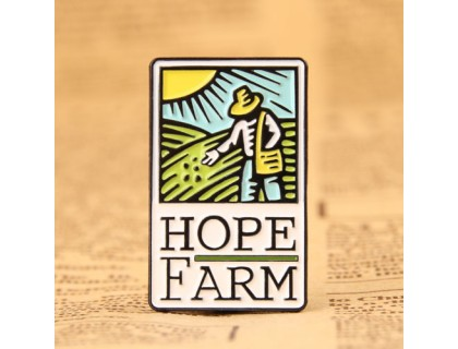 Farm Enamel Pins