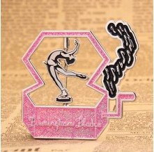 Music box lapel pins