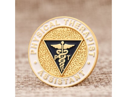 Physical Therapist Custom Enamel Pins