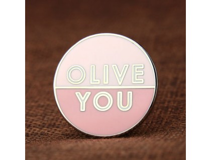 Olive You Enamel Pins