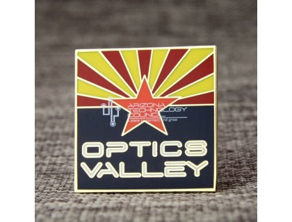 Optics Valley Lapel Pins