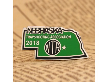 Nebraska Trapshooting Association Pins