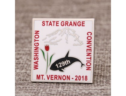 Washington State Grange Enamel Pins