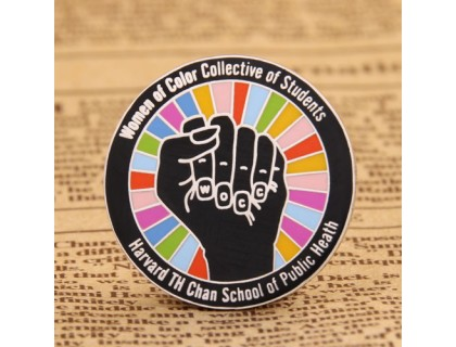 Harvard Chan Women of Color Collective Pins