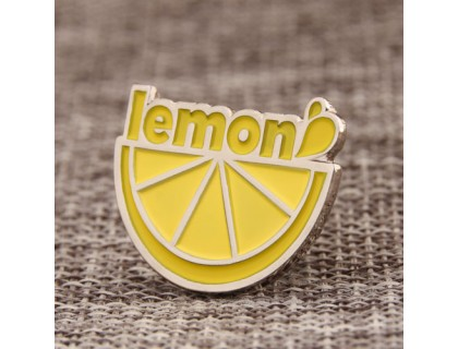 Cute Lemon Custom Pins