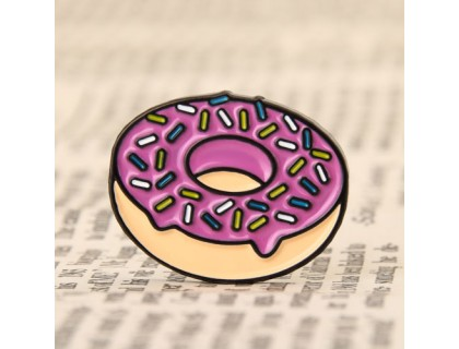 Doughnut Cheap Enamel Pins