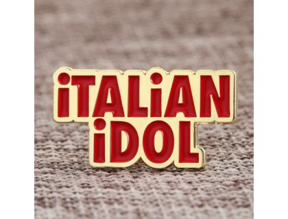 Italian Idol Soft Enamel Pins