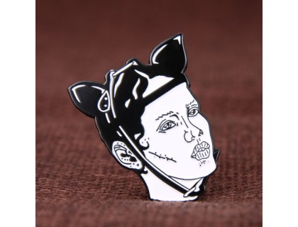 Woman Enamel Pins for Sale
