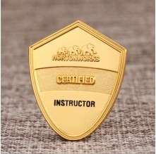 Hortonworks Certified Instructor Sandblast Pins