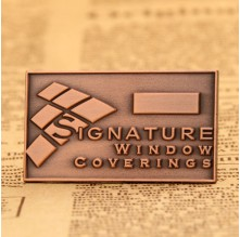 Signature Window Coverings Lapel Pins