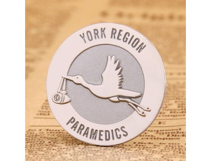 York Region Paramedics Custom Pins
