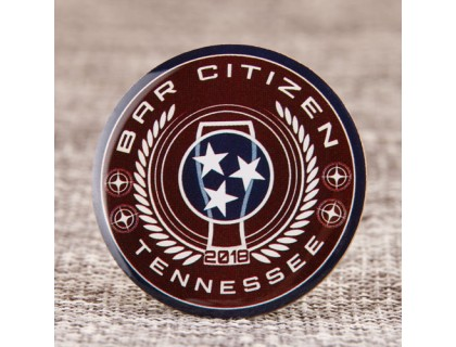 Bar Citizen Offset Printed Pins