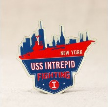 USS Intrepid Fighting I Lapel Pins