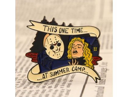 Summer Camp Enamel Lapel Pins