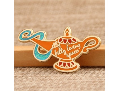 Aladdin's Lamp Enamel Pins Wholesale
