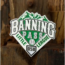 Banning Pass Little League Trading Pins