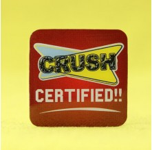 Crush Certified offset Printed Pins