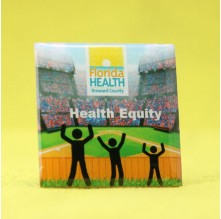 Health Equity Enamel Pins Custom