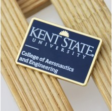 Kent State University Enamel Lapel Pins
