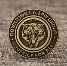 DTLA Antique Lapel Pins