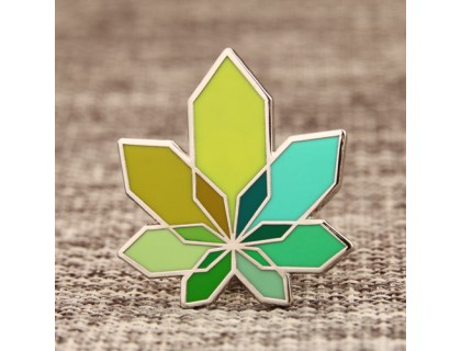 Unique leaves Hard Enamel Pins