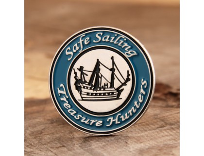 Safe Sailing Enamel Pins Wholesale