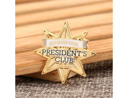 TMC President's Club Cheap Enamel Pins